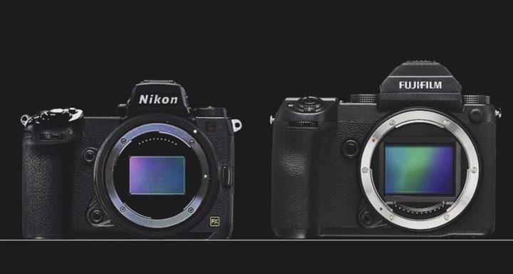 Nikon FF mirrorless vs Fujiifilm GFX 50S 720x384 1